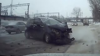 Fail Compilation of Driving in Russia DECEMBER 2016 #78