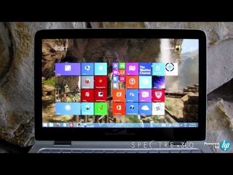 HP Spectre x360 Laptop Review and Unboxing for E3 2015 Hewlett Packard