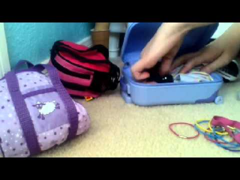 How to pack for your American Girl doll