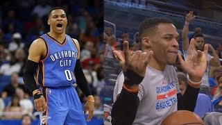 Russell Westbrook 57 Pts Highest Scoring Trip Dub Ever!
