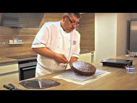 How-to: Torte glasieren
