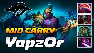 YapzOr Slardar   29 FRAGS MID CARRY   Dota 2 Pro Gameplay
