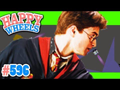 Harry Potter Quiz! - Durch Welches Gleis Kommt Man Zum Hogwartes Express?! ✪ Happy Wheels #596 video