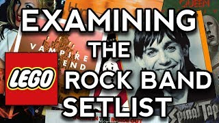 Examining The Lego Rock Band Setlist