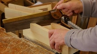 Making a Large Mitre Box | Paul Sellers