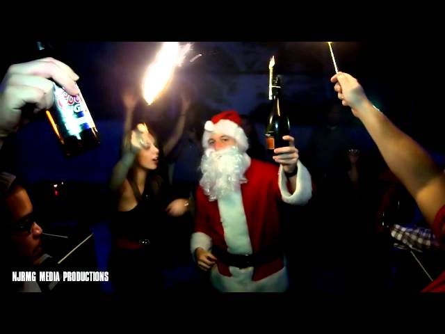 Blooper: Santa takes a spill at The West Five Supper Club in Hoboken, NJ on 12.23.2011  A Must See!
