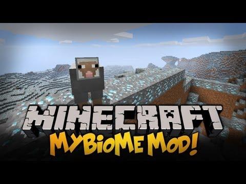 Minecraft Mody 1.4.7 TWÓRZ WŁASNE BIOMY DIAXOWY BIOME OWCE TERRORYSTKI myBiomes Mod