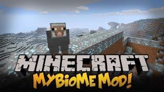 Minecraft Mody - 1.4.7 - TWÓRZ WŁASNE BIOMY, DIAXOWY BIOME, OWCE TERRORYSTKI ! - myBiomes Mod