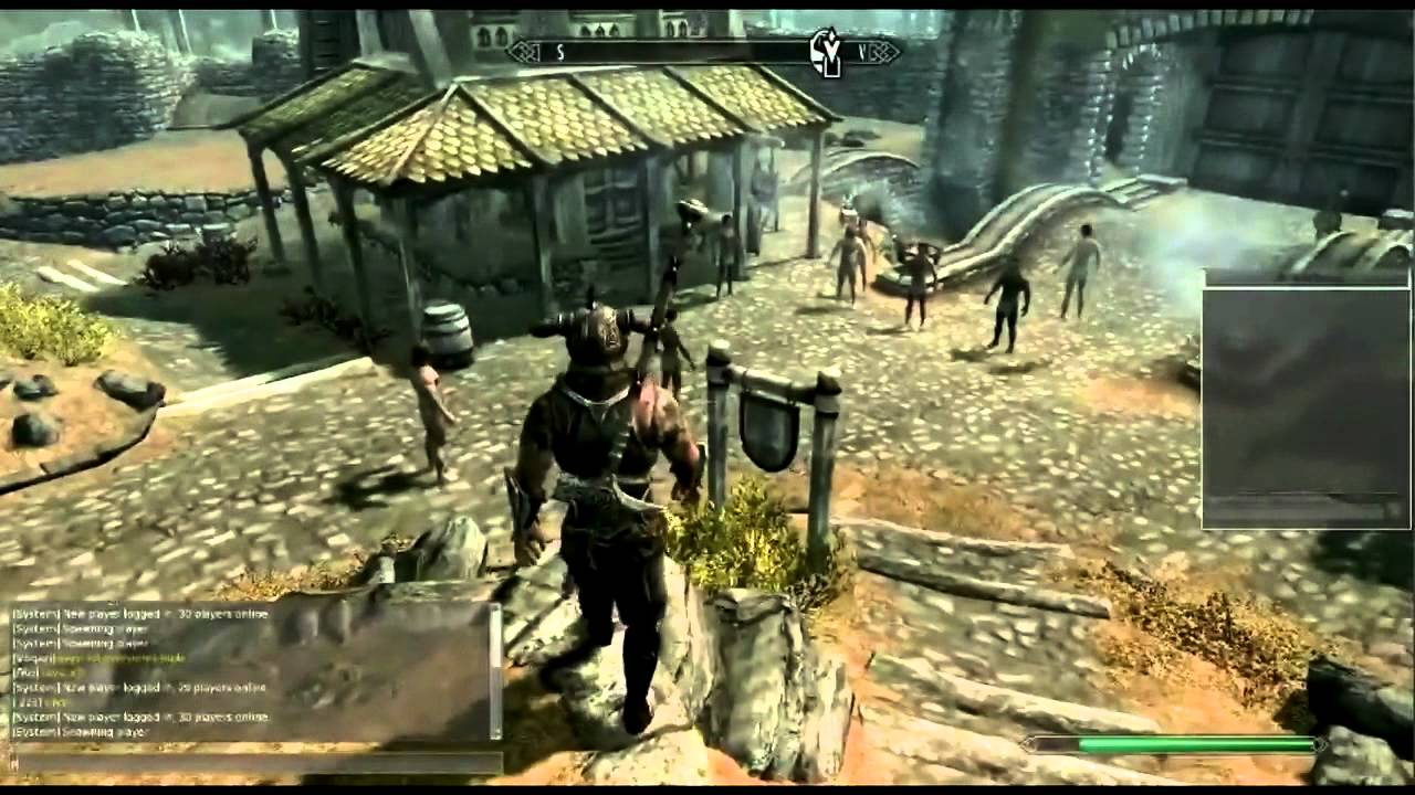 You Can Play Skyrim in Split-Screen Multiplayer Using
