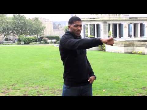 ANTHONY JOSHUA LONDON PHOTO SHOOT WITH OFFICIAL MATCHROOM PHOTOGRAPHER LAWRENCE LUSTIG