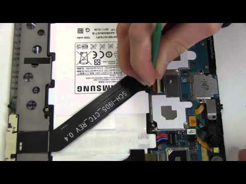 How to Replace Your Samsung GALAXY Tab 10.1 SCH-I905 Verizon 4G LTE Battery