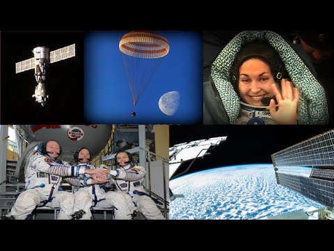 Soyuz TMA-14M returns trio to Earth after 167 days on space station | FULL VIDEO