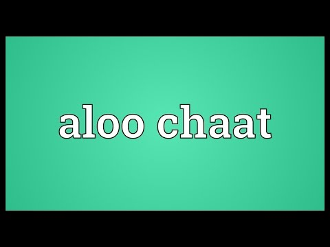 Header of Aloo Chaat