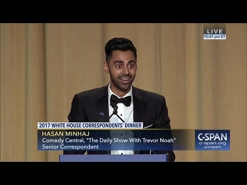 Hasan Minhaj COMPLETE REMARKS at 2017 White House Correspondents' Dinner (C-SPAN) thumbnail