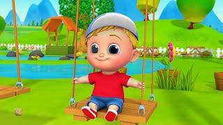 Свинг песня | стишки для детей | детские стишки | рифмы на русском | Rhymes for Kids | Swing Song