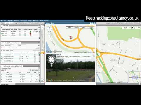 Google Vehicle Tracking Software