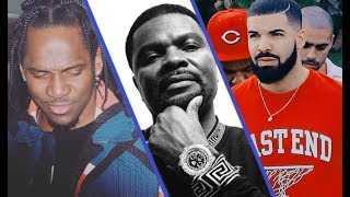 J Prince Sends A Threatening Message To Pusha T About Drake