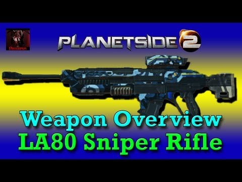 Planetside 2: Weapon Overview - LA80 Sniper Rifle (New Conglomerate Bolt Action)