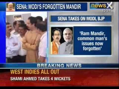 Shiv Sena's veiled attack on BJP, Narendra Modi for appeasing minorities - News X