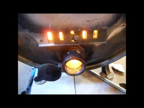 Woodstove ( Barrel Stove ) Air Intake DEMO