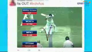 Virat Kohli worst DRS call during India vs Australia 2nd test match