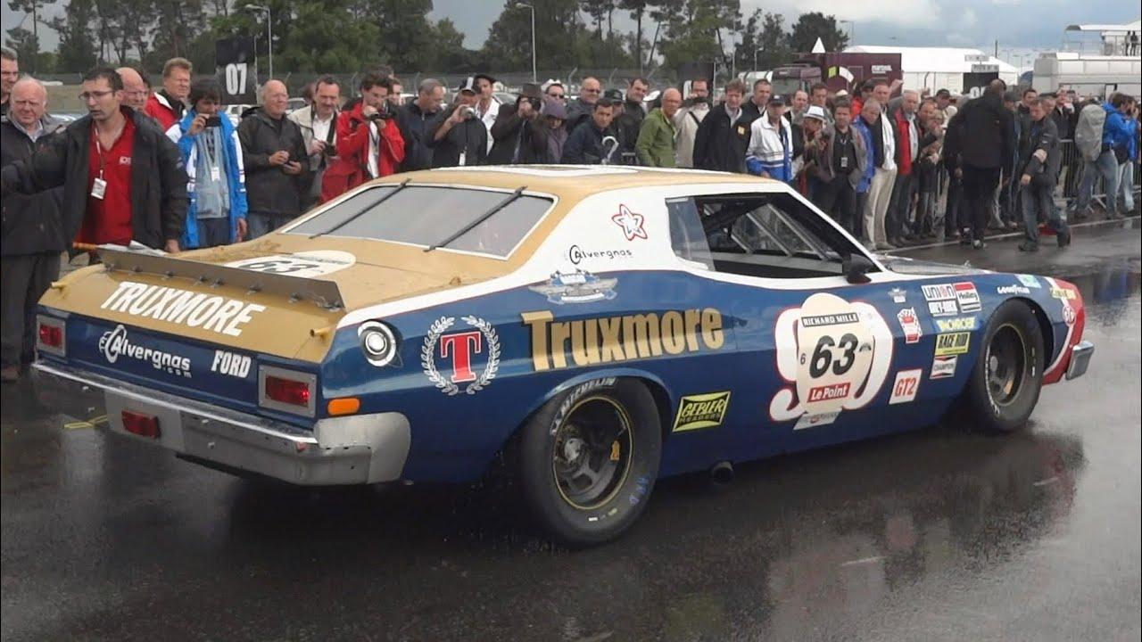 1976 nascar ford gran torino sound youtube