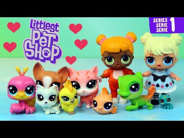 LOL Surprise • Domowi Kumple • Littlest Pet Shop • bajki i openbox