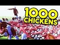 1000 CHICKENS!! | Totally Accurate Battle Simulator