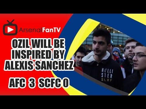 Ozil Will Be Inspired By Alexis Sanchez - Arsenal 3 Stoke City 0