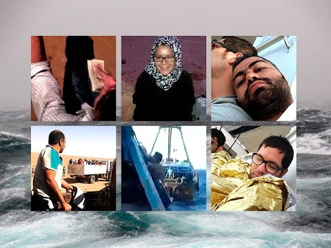 Death at sea: Syrian migrants film their perilous voyage to Europe | Guardian Docs