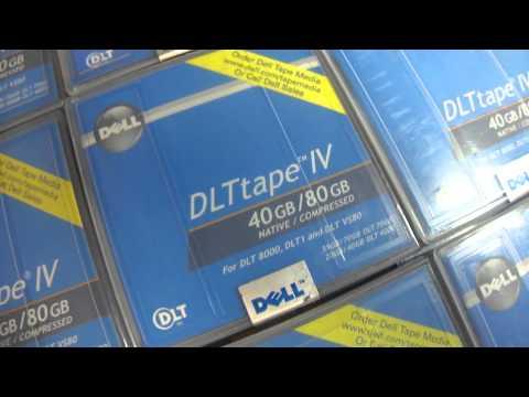 Dell 9W080 LTO Ultrium 1 40GB 80GB Tape Drive Cartridge