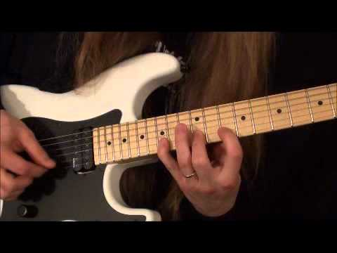 Richie Kotzen Style Guitar Lick # 1
