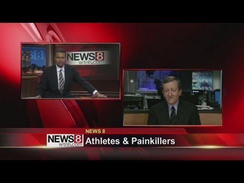 Athletes and prescription painkillers