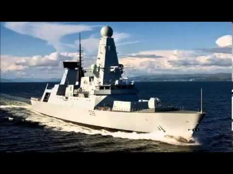 HMS Daring Arrived In The Philippines For Aid