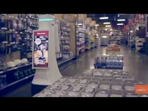 Lowe's Testing Robot Sales Assistants in California Store