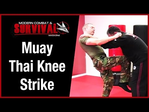 Muay Thai Knee Strike Mistake In Self Defense Image 1