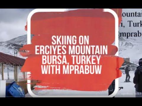 Skiing On Erciyes Mountain, Kayseri, Turkey