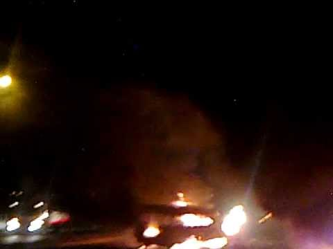 nsh employes bus was get fire on the middle of road in saudhi arabia, were died more then 40 mans...