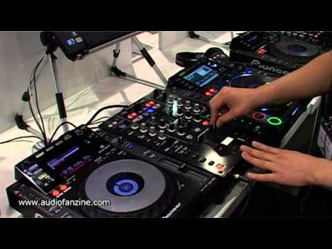 PIONEER DJM T1 video demo [Musikmesse 2011]