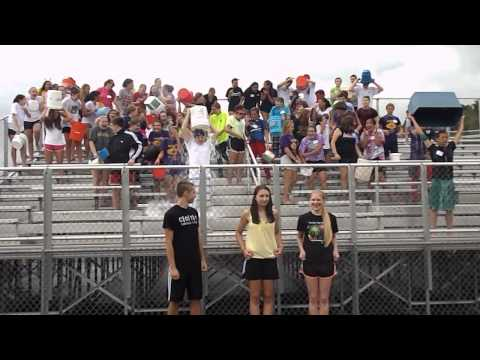 Ellington High School 2014-2015 Marching Band ALS Ice Bucket Challenge