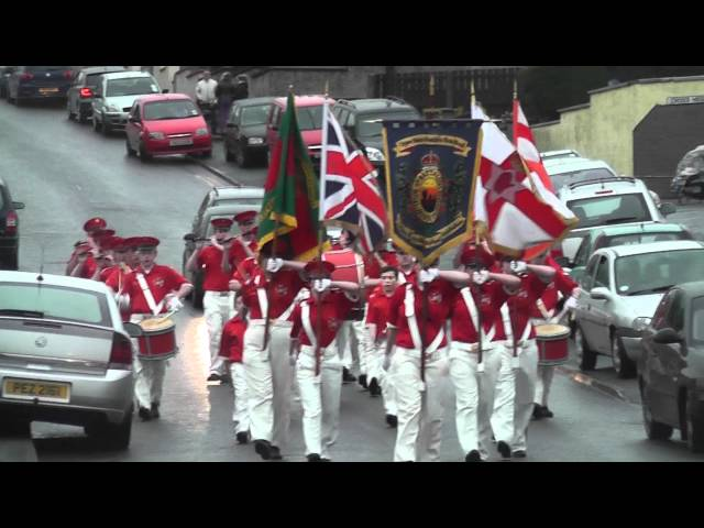 Upper Bann Fusiliers FB @ Pride Of The Hill FB Parade 2012