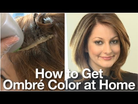 Ombré Hair: How to Color (Dye) Your Hair at Home