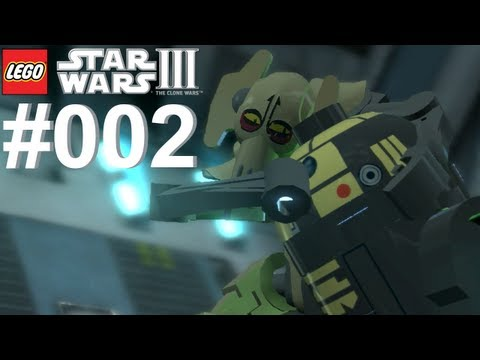 Let's Play LEGO Star Wars 3 The Clone Wars #002 Kampf der Droiden [Together] [Deutsch]