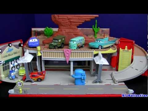Cars Radiator Springs Playtown Playset Luigi's Casa Della Tires