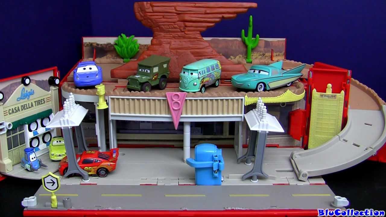 Cars Radiator Springs Playtown Playset Luigi S Casa Della