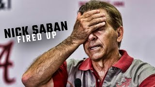 Nick Saban gets fired up about Alabama coaching staff size complaints