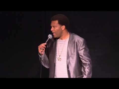 Comedian Andre Paradise Live on Jenniefer Lopez's NuvoTv Standup & Deliever