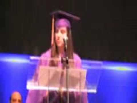 Trinity Christian School Valedictorian Speech 2009