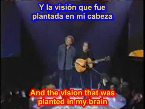 The sounds of silence - Simon & Garfunkel ( SUBTITULADO ESPAÑOL INGLES )