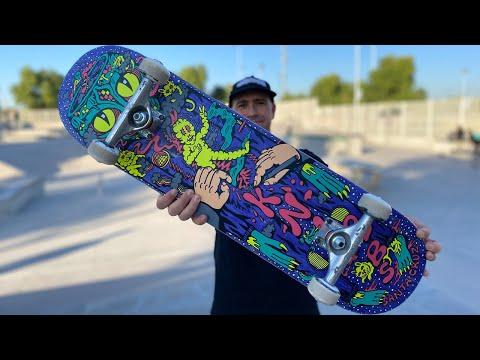 JEREME KNIBBS 'REPTILIAN' POWERPLY PRODUCT CHALLENGE w/ ANDREW CANNON!   Santa Cruz Skateboards